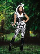 Zebralicious Halloween Animals Zebra Pantsuit Costume 3 Pcs Set Gift SMALL