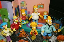 The Simpsons World of Springfield Living Room and Kitchen with extra figures