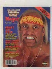 WWF Magazine 1988 April Hulk Hogan: Hogan's Title Stolen A Vengeful Giant WWE