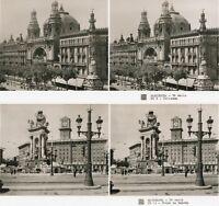 15 interessante STEREOFOTOS,  BARCELONA 1925, Spain Spanien, Serie 3