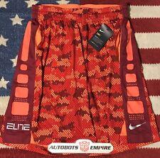 Vintage Nike Air Dri-Fit Elite Basketball Snake Camo Shorts Xl Eybl Max Kb Mamba