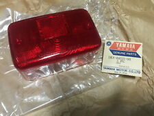 Yamaha DX100 RS100 RS125 RX100 RX125 YT125 YT175 Tail Light Lamp Lens /// NOS