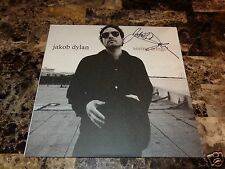 Jakob Dylan RARE Signed Limited Vinyl LP Record Seeing Things The Wallflowers !!