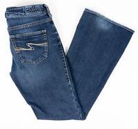 Silver Jeans Womens Aiko Bootcut Stretch Medium Wash Size 27 x 31