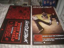 Hoobastank-(every man for himself)-1 Poster Flat-2 Sided-12X24 Inches-Nmint-Rare