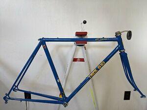 1984 Trek 610 sport touring bicycle frame fork Reynolds 531CS 52 cm ST 55 cm TT