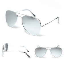Air Force Aviator Sunglasses - Silver Mirror Lens - Mens / Womens FREE POST AUS