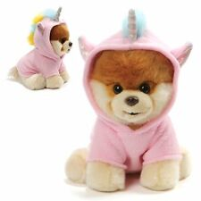 Gund Boo the Dog Boo Unicorn 9-Inch Plush Pink Unicorn Outfit