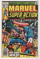 Marvel Super Action #8 (Jun 1978, Marvel) [Captain America #106] Jack Kirby X