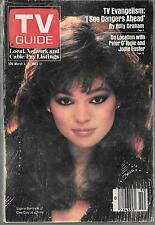 TV GUIDE MARCH 1983 ONE DAY AT A TIME COVER (VG-) BEAUTIFUL VALERIE BERTINELLI