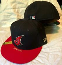 CLEVELAND INDIANS MLB NEW ERA 59FIFTY NAV/RED TIMELINE COLLECTION FITTED HAT NWT