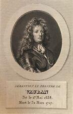 Sébastien Le Prestre de Vauban Maréchal de France (1633-1707) Fortification