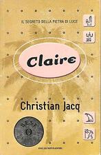 CLAIRE-Christian Jacq-OSCAR MONDADORI (2001)