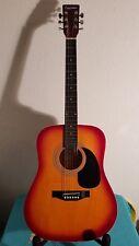 Acoustic Dreadnought Guitar FULL SIZE FG100SB by Falcon (FGS 12B)