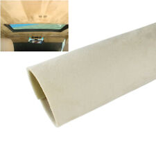 Beige Upholstery Headliner Fabric Replacement Old Aging Headlining Suede 54