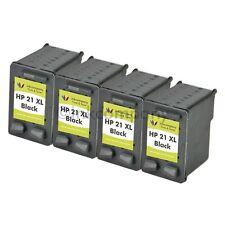 4x HP21 XL Refill Druckerpatronen Tintenpatronen Deskjet Officejet Fax
