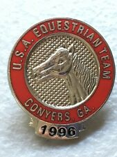 USA EQUESTRIAN Team 1996 PIN BADGE TEAM  Conyers GA