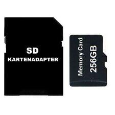 MICRO SD-KARTE 256GB CLASS 10 MEMORY CARD 256GB MIT ADAPTER MICRO-SD SDXC 256GB