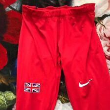 🇬🇧Nike Pro Elite Team GB Großbritannien Laufhose tights Pants Small