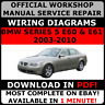 # OFFICIAL WORKSHOP Service Repair MANUAL for BMW SERIES 5 E60 & E61 2003-2010 #