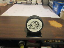 Uhl Rockford Icehogs Lindsay Insurance King Logo Puck