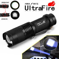 5000Lumen CREE T6 LED Rechargeable Flashlight Torch Super Bright Light
