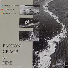 Al Di Meola John McLaughlin Paco de Lucia - Passion Grace & Fire (CD 1986) VG++