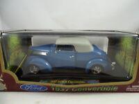 1:18 Road Signature #92239 1937 Ford Convertible bluemetallic - RARITÄT §