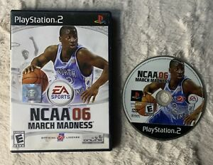 NCAA March Madness 06 Sony PlayStation 2 Game And Case Only Ships Fast!