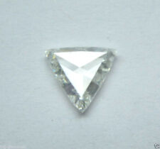 0.30 Ct Natural Real H-I Color SI Triangle Rose Cut Diamond
