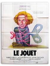 Affiche 120x160cm LE JOUET (1976) Veber - Pierre Richard, Michel Bouquet #