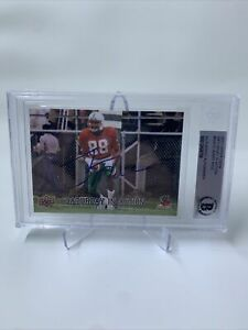 Jerry Rice Signed 2011 Upper Deck Saturday In Action IP Auto Beckett COA 49ers