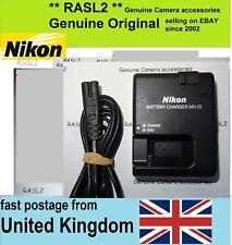 Authentique Original Nikon MH-25 Chargeur EN-EL15 D600 D610 D800, D7000, Nikon 1 v1