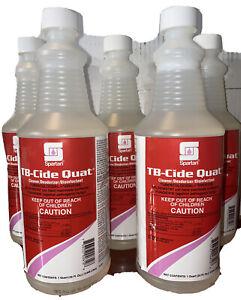 Spartan TB-Cide Quat - 1 Quart  Solution Virucide Disenfectant Cleaner