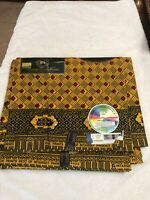 Phoenix Hitarget Guaranteed Wax Block Print 100% Cotton Fabric