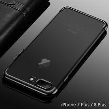 Housse Etui Coque Bumper Case Cover Apple iPhone 7 Plus / 8 Plus couleur Noir