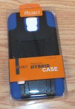Genuine Reiko Blue & Black Premium Hybrid Case For Galaxy S5 **READ**