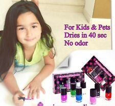 Princess Pawdicure Nail Polish for Kids and Pets. Color- Blue