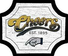 Cheers Bar Est. 1895 Metal Sign