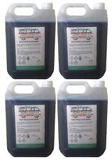 Blue Chemical Motorhome & Caravan Toilet Fluid Cleaner & Protector - 4 x 5L