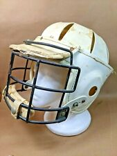 New listing Bacharach Rasin Lacrosse Helmet 42LH Vintage White Used