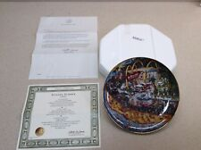 "The Franklin Mint Limited Edition McDonald's ""Golden Summer� Collectors Plate!"