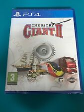 PS4 : industry giant 2 (neuf sous blister)