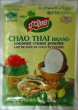 Chao Thai BRAND Coconut Cream Powder Curries Sweets Baking 4 Packs 240g I X Pack 60g