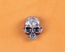 32X26MM 10pcs Skull Head Floral Rivetback Concho Antique Silver for LeatherCraft