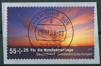 Bund 2717 gestempelt Hamburg Vollstempel Selbstklebende SK BRD 2009 used