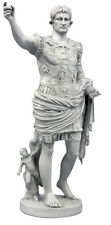 "Augustus Caesar Octavian statue 29"" First Roman Emperor Replica Reproduction"