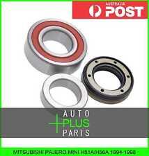 Fits MITSUBISHI PAJERO MINI H51A/H56A Ball Bearing Kit Rear Axle Shaft 40X80X23