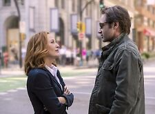 PHOTO X FILES -  GILLIAN ANDERSON, DAVID DUCHOVNY  (P2) FORMAT 20X27 CM