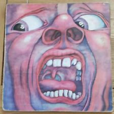 KING CRIMSON Vinyl LP In the Court of the Crimson King ILPS 9111